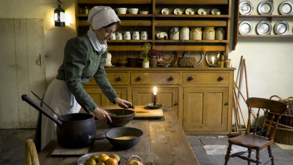 The Apprentice House kitchen